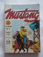 ALBUM MUSTANG N° 41  ( N° 122 à N° 124 )  BE - Mustang