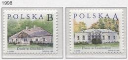 Poland 1998 Polish Small Manor Houses Cottage Village, Buildings  MNH** - 1944-.... République