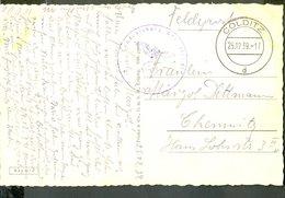 GERMANY COLDITZ 1939 FIELD POST OFFICE 41343 POSTCARD POSTAL STATIONERY - Germany