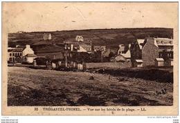 TREGASTEL-PRIMEL  Vue Sur Les Hôtels De La Plage.    2 Scans - Primel