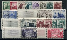 RC 15039 TUNISIE N° 402 / 418 SÉRIE DE 1954 SANS RF COTE 15,00€ NEUF ** MNH TB - Tunisia