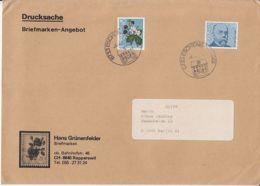 BLACKBERRIES, ROBERT KOCH, STAMPS ON COVER, 1978, SWITZERLAND - Switzerland