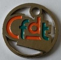 Jeton De Caddie - Syndicat - CFDT - En Métal - - Jetons De Caddies