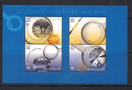 Slovenie Slovenija  2005 Yvertn° Bloc 22 *** MNH Cote 3,50 Euro  Cinquantenaire Europa Cept 2006 - Slovénie