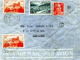 Enveloppe Le Havre 1950 Perforés LS 129 - France