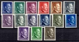 Pologne/Gouvernement Général 15 Timbres Non Dentelés Neufs ** MNH. TB. A Saisir! - 1939-44: World War Two