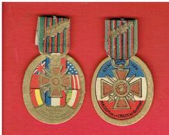 GUERRE 1914 1918 WWI LOT 2 JOURNEES DE LA MAISON DE LA CROIX DE GUERRE 23 AU 30 JUIN 1929 - 1914-18