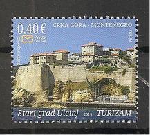 MONTENEGRO  2019,OLD TOWN ULCINJ,TURISMUS,, MNH - Montenegro