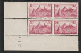 Coin Daté 290 ** 15/1/37    ( Trace  Manque De Gomme Sur La Bande Bas ) - 1930-1939