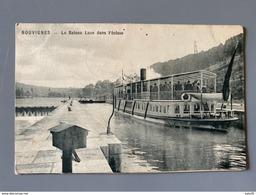 BELGIQUE : BOUVIGNES : Le Baetau Luxe Dans L'écluse .................... 4189 - Dinant