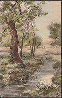 Un Ruisseau Dans Les Bois, C.1910s - Noyer Luxographie CPA - Künstlerkarten