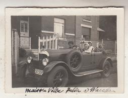Old Timer - Villa à Wandre Ou Waudru - Photo 6.5 X 9 Cm - Automobiles