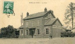 76  BOSC LE HARD  LA GARE - Frankrijk