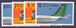Katanga  N° 75-78 Avec Charnière - Katanga