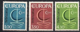 Cept 1966 Portugal Yvertnr. 993-95 *** MNH Cote 22,50 Euro - 1966