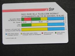 ITALIA 1161 C&C - FASCE ORARIE AA MANTEGAZZA 31.12.92 LIRE 5000 - USATA USED - Italie