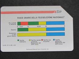 ITALIA 1161 C&C - FASCE ORARIE AA MANTEGAZZA 31.12.92 LIRE 5000 - USATA USED - Italy