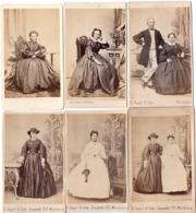 WURZBURG C.1870 - 6 Photo Cdv Jeune Femme De La Haute Noblesse - Princesse ? - Anciennes (Av. 1900)