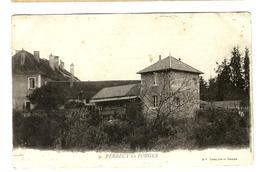71 - Perrecy Les Forges - Bel Affranchissement - CPA Avant 1903 - 10c Semeuse Lignée - France