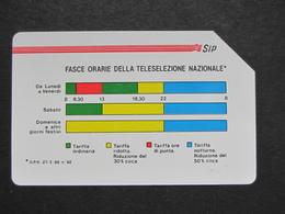 ITALIA 1151 C&C - FASCE ORARIE PIKAPPA 31.12.92 LIRE 5.000 - USATA USED - Italy