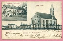67 - STRASSBURG - STRASBOURG NEUDORF - Wirtschaft Von J. STALTER - Evang. Kirche - Strasbourg