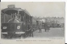 75 - PARIS - Tramways à Vapeur Au Rond-Point De L'Etoile - Public Transport (surface)
