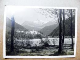 Post Card Carte Switzerland Mountains Montagnes Berges 1928 Strada Engadin - Storia Postale