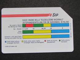 ITALIA 1159 C&C - FASCE ORARIE AA MANTEGAZZA 31.12.92 LIRE 5.000 - USATA USED - Italy