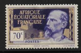Maury 82 - 70 C Emile Gentil - * - A.E.F. (1936-1958)