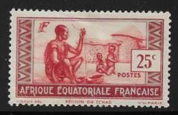 Maury 40 II - 25 C Région Du Tchad Type II - * - A.E.F. (1936-1958)