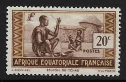 Maury 39 - 20 C Région Du Tchad - * - A.E.F. (1936-1958)