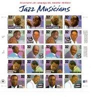 USA Les Musiciens De Jazz. Amstrong- Coleman- Roll Morton- Parker- Coltrane- Johnson- Blake- Mingus- Garner- Etc - United States