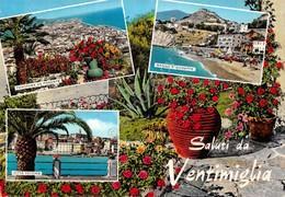 Cartolina Ventimiglia Vedute 1965 - Imperia