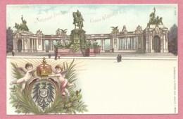 """Ganzsache - Entier Postal - BERLIN - """" 1701 - 1901 """" - National Denkmal Kaiser Wilhelm I - Reichspost 5 Pfennig - Germany"""