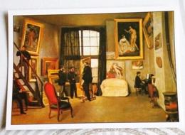 BAZILLE FREDERIC... L'ATELIER DE L'ARTISTE - Peintures & Tableaux