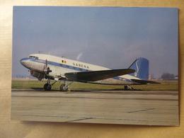 SABENA  DC 3  OO-AWZ   /  PI N°736 - 1946-....: Ere Moderne
