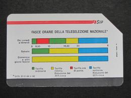 ITALIA 1107 C&C - FASCE ORARIE PIKAPPA 31.12.89 LIRE 5.000 - USATA USED - Italie