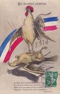 Le Dernier Combat 1917  Illustrateur Inconnu Texte De Déroulède - Weltkrieg 1914-18