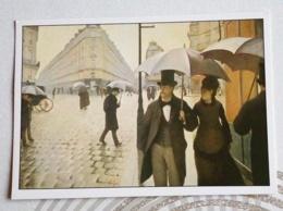 CAILLEBOTTE GUSTAVE.... TEMPS DE PLUIE A PARIS - Paintings