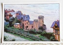 CAILLEBOTTE GUSTAVE.... VUE D'HOULGATE CALVADOS - Peintures & Tableaux