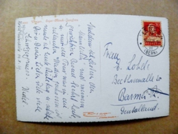 Post Card Carte Switzerland Mountains Montagnes Berges 1929 Wengen Bern - Storia Postale