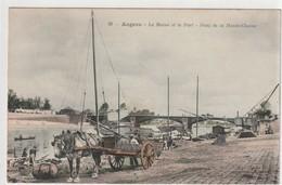 Angers - La Maine Et Le Port - Pont De La Haute-chaîne - Angers