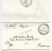 REPUBBLICA ROMANA - DA URBINO A PESARO - 3.5.1849 - Italia