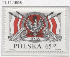 Poland 1998 The Restoration Of Poland's Sovereignty, National Independence Day MNH** - 1944-.... Repubblica