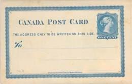 One Cent GS Canada Blanc - 1860-1899 Règne De Victoria