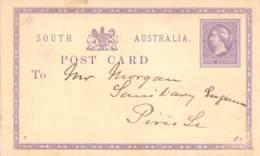 One Penny GS South Australia Beschrieben - 1855-1912 South Australia