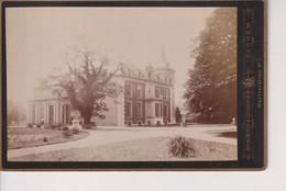 1890  HET HOF TE DIEREN Veluwezoom GELDERLAND BRAINICH LEUSINK ARNHEM +- 16*10CM Cabinet  Photograph NEDERLAND HOLLAND - Antiche (ante 1900)