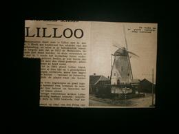 LILLO. Molen - Documenti Storici