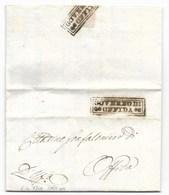 REPUBBLICA ROMANA - DA OFFIDA PER CITTA' - 26.4.1849. - Kerkelijke Staten