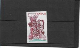 FRANCE Non Dentelé N°2021 Neuf** - SUP - - Francia